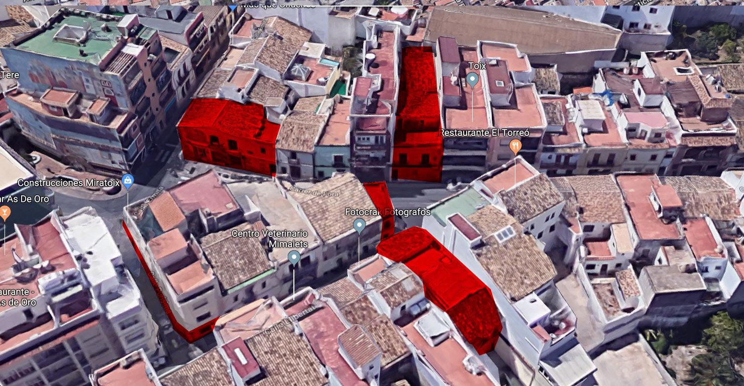 El Ayuntamiento ya posee varias dependencias en la misma zona sin darles un uso concreto.